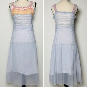 Vintage Cultura Italian Sheer Dress or Nightgown